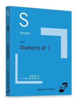 Abbildung von Krüger | Skript Strafrecht AT 1 | 21. Auflage | 2021 | beck-shop.de