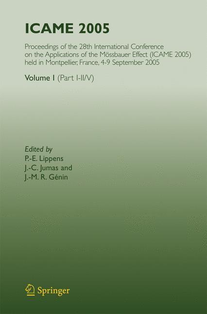 ICAME 2005 | Lippens / Jumas / Génin, 2007 | Buch (Cover)