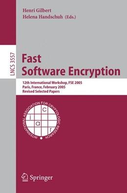 Abbildung von Gilbert / Handschuh | Fast Software Encryption | 2005 | 12th International Workshop, F...