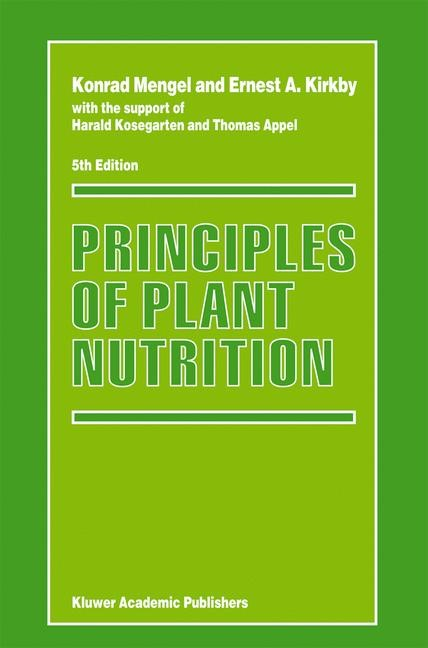 Abbildung von Mengel / Kirkby | Principles of Plant Nutrition | Fifth Edition | 2001