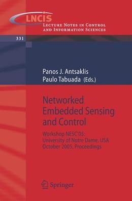 Abbildung von Antsaklis / Tabuada   Networked Embedded Sensing and Control   2006   Workshop NESC'05: University o...   331