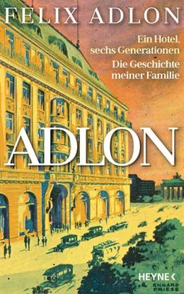 Abbildung von Adlon / Kropac | Adlon | 1. Auflage | 2021 | beck-shop.de