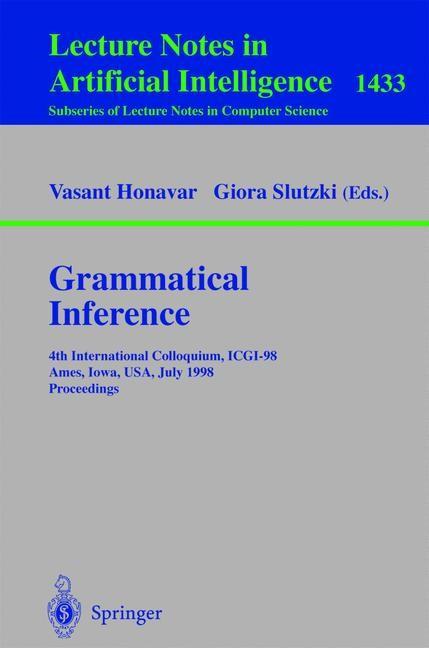 Abbildung von Honavar / Slutzki   Grammatical Inference   1998