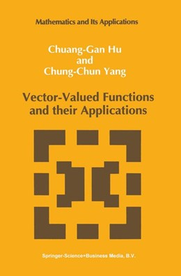 Abbildung von Chuang-Gan Hu / Chung-Chun Yang | Vector-Valued Functions and their Applications | 1992 | 3
