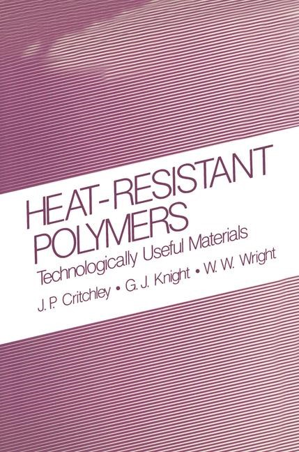 Abbildung von Critchley / Knight / Wright | Heat-Resistant Polymers | 1983