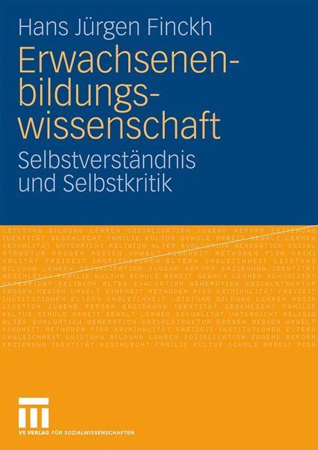 Abbildung von Finckh | Erwachsenenbildungswissenschaft | 2009