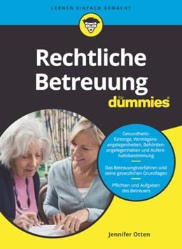 Abbildung von Otten | Rechtliche Betreuung für Dummies | 1. Auflage | 2021 | beck-shop.de