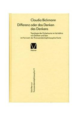 Abbildung von Bickmann | Differenz oder das Denken des Denkens | 2015 | Topologie der Einheitsorte im ... | 11