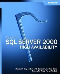 Abbildung von Hirt / Cook / Tripp | Microsoft(r) SQL Server(tm) 2000 High Availability | 2003