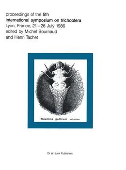 Abbildung von Bournaud / Tachet | Proceedings of the Fifth International Symposium on Trichoptera | 1987 | Lyon, France 21–26 July 1986 | 39