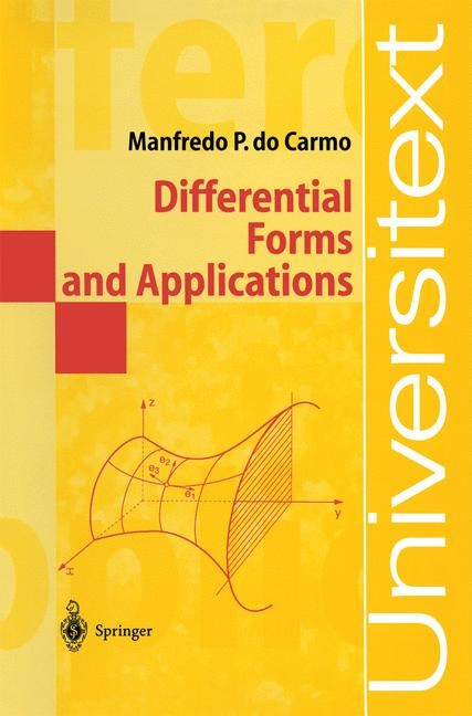 Abbildung von Do Carmo | Differential Forms and Applications | 1998