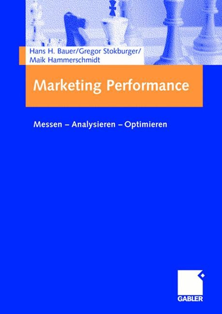 Abbildung von Bauer / Stokburger / Hammerschmidt | Marketing Performance | 2006
