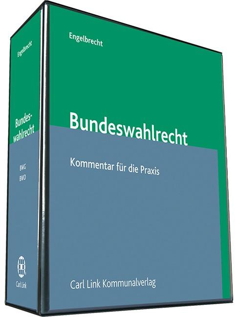 Abbildung von Frommer / Engelbrecht | Bundeswahlrecht | Loseblattwerk mit Aktualisierungen | 2018