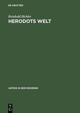 Abbildung von Bichler | Herodots Welt | Reprint 2015 | 2001 | Der Aufbau der Historie am Bil...