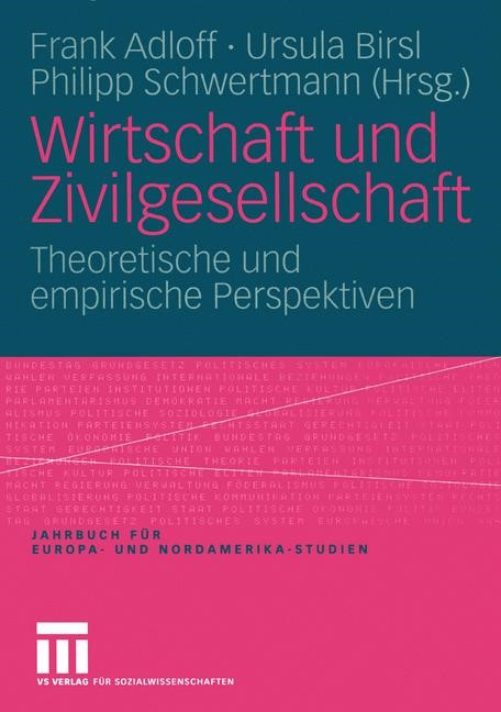 Wirtschaft und Zivilgesellschaft | Adloff / Birsl / Schwertmann | 2005, 2005 | Buch (Cover)