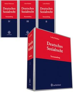 Abbildung von Schelter   Deutsches Sozialrecht   Loseblattwerk mit   2019   Textsammlung