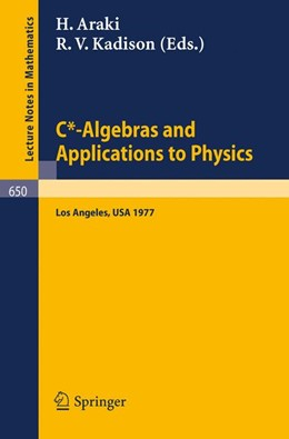 Abbildung von Araki / Kadison | C*-Algebras and Applications to Physics | 1978 | Proceedings, Second Japan-USA ... | 650