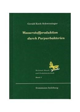 Abbildung von Koch-Schwessinger | Wasserstoffproduktion durch Purpurbakterien | 1996 | Biophotolyse des Wassers durch... | 3