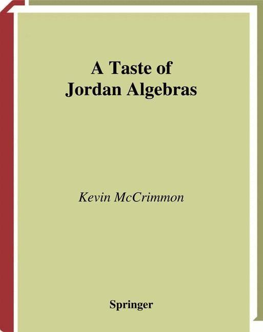 Abbildung von McCrimmon   A Taste of Jordan Algebras   2003