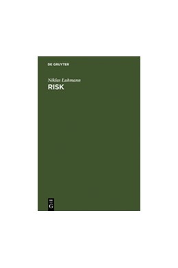 Abbildung von Luhmann | Risk | Reprint 2011 | 1993 | A Sociological Theory