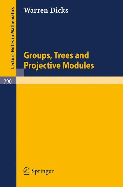 Abbildung von Dicks | Groups, Trees and Projective Modules | 1980
