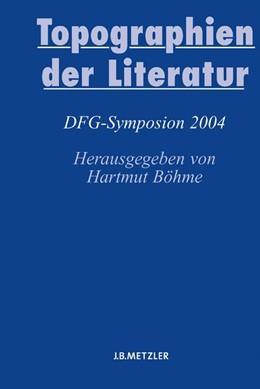 Abbildung von Böhme | Topographien der Literatur | 2005 | Deutsche Literatur im transnat...