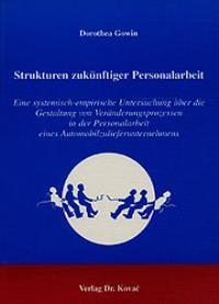 Abbildung von Gowin | Strukturen zukünftiger Personalarbeit | 2000