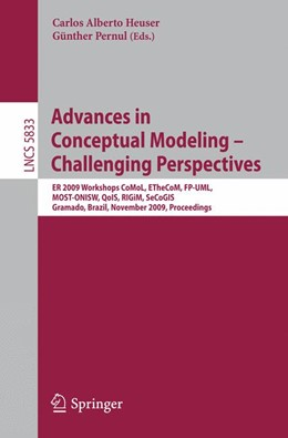 Abbildung von Heuser / Pernul | Advances in Conceptual Modeling - Challenging Perspectives | 2009 | ER 2009 Workshops CoMoL, ETheC...