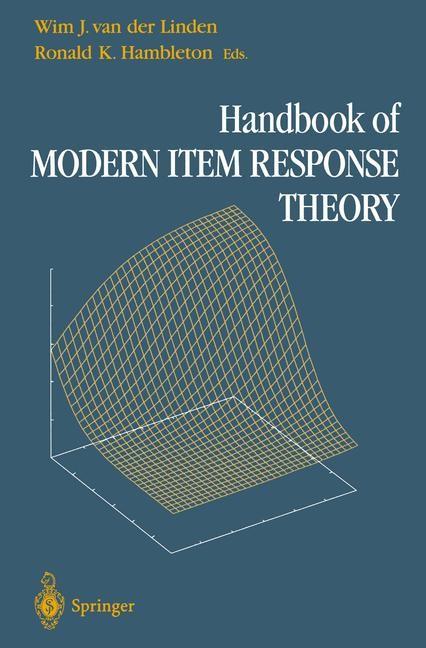 Abbildung von van der Linden / Hambleton | Handbook of Modern Item Response Theory | 1996