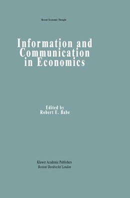 Abbildung von Babe | Information and Communication in Economics | 1993 | 32