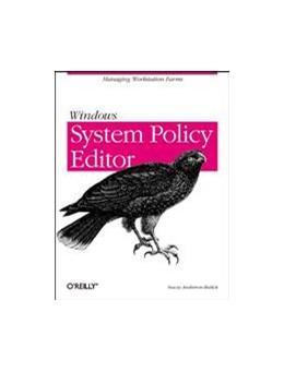 Abbildung von Stacey Anderson-Redick | Windows System Policy Editor | 2000