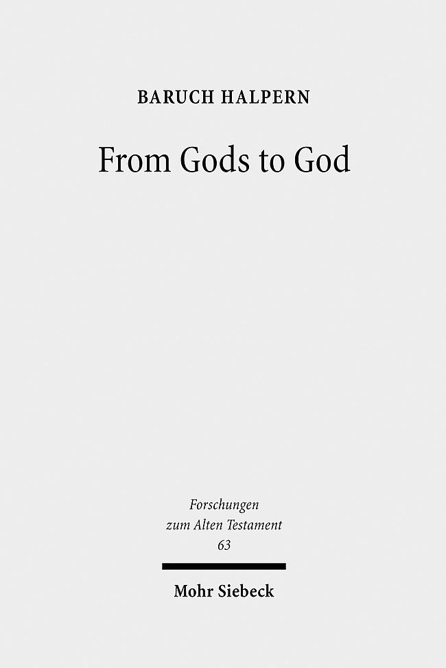 Abbildung von Halpern | From Gods to God | 2009