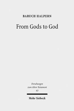 Abbildung von Halpern | From Gods to God | 2009 | The Dynamics of Iron Age Cosmo... | 63