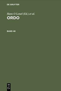 Abbildung von ORDO | 1998 | Soziale Marktwirtschaft: Anspr...