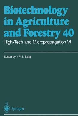Abbildung von Bajaj | High-Tech and Micropropagation VI | 1997 | 40