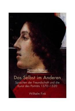 Abbildung von Baader   Das Selbst im Anderen   1. Aufl. 2015   2015   Sprachen der Freundschaft und ...