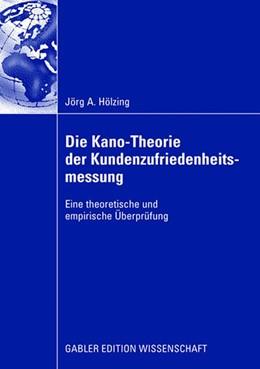 Abbildung von Hölzing | Die Kano-Theorie der Kundenzufriedenheitsmessung | 2008