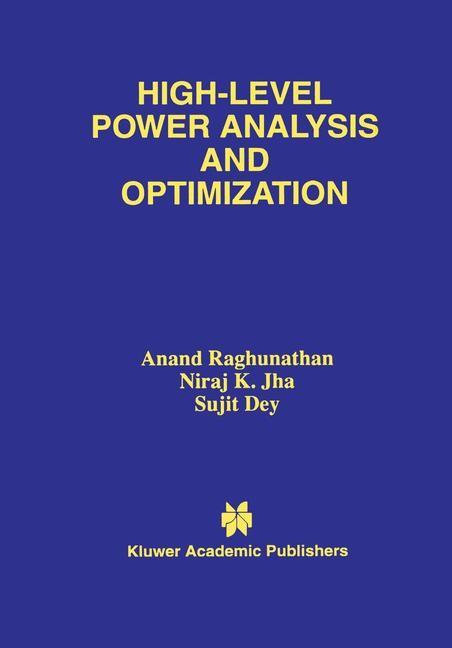 Abbildung von Raghunathan / Jha / Dey | High-Level Power Analysis and Optimization | 1997
