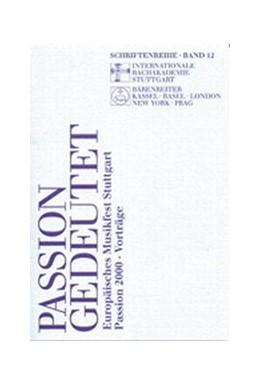 Abbildung von Prinz   Passion gedeutet   2003   Europäisches Musikfest Stuttga...   12