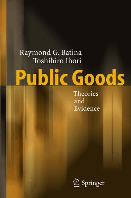 Abbildung von Batina / Ihori   Public Goods   2005