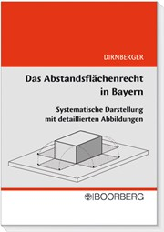 das abstandsfl chenrecht in bayern dirnberger 2008 buch beck. Black Bedroom Furniture Sets. Home Design Ideas