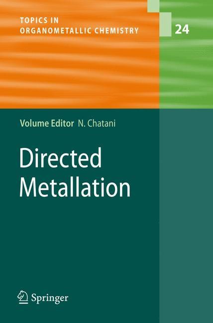 Abbildung von Chatani   Directed Metallation   2007