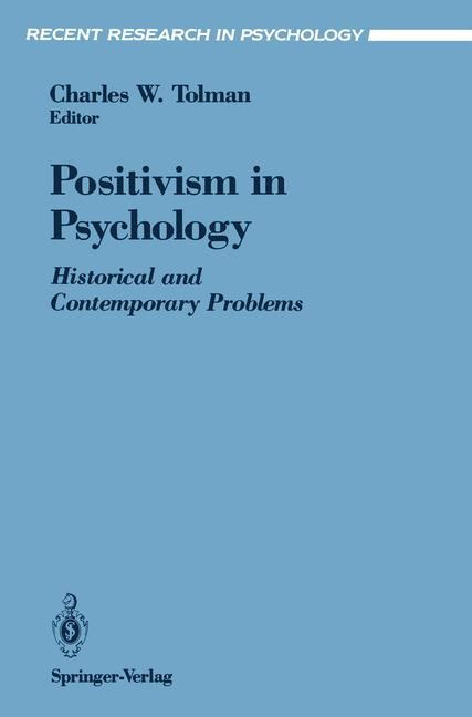 Abbildung von Tolman | Positivism in Psychology | 1991