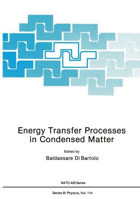 Abbildung von Dibartolo | Energy Transfer Processes in Condensed Matter | 1985
