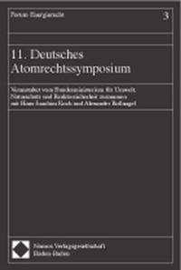 11. Deutsches Atomrechtssymposium, 2002 | Buch (Cover)