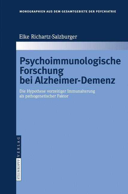 Abbildung von Richartz-Salzburger | Psychoimmunologische Forschung bei Alzheimer-Demenz | 2007