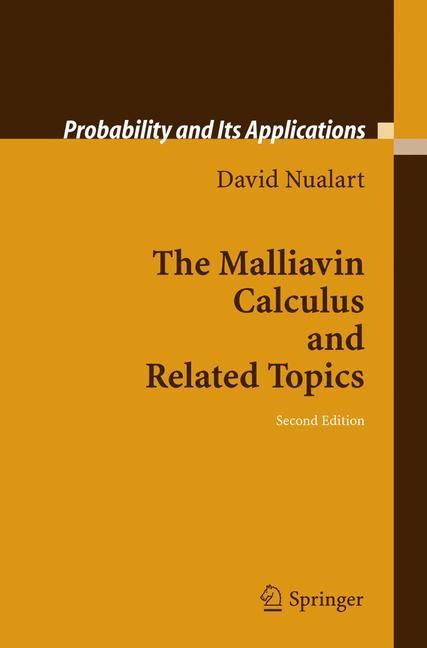 Abbildung von Nualart   The Malliavin Calculus and Related Topics   2nd ed.   2005