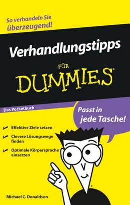 Abbildung von Donaldson   Verhandlungstipps für Dummies Das Pocketbuch   2009
