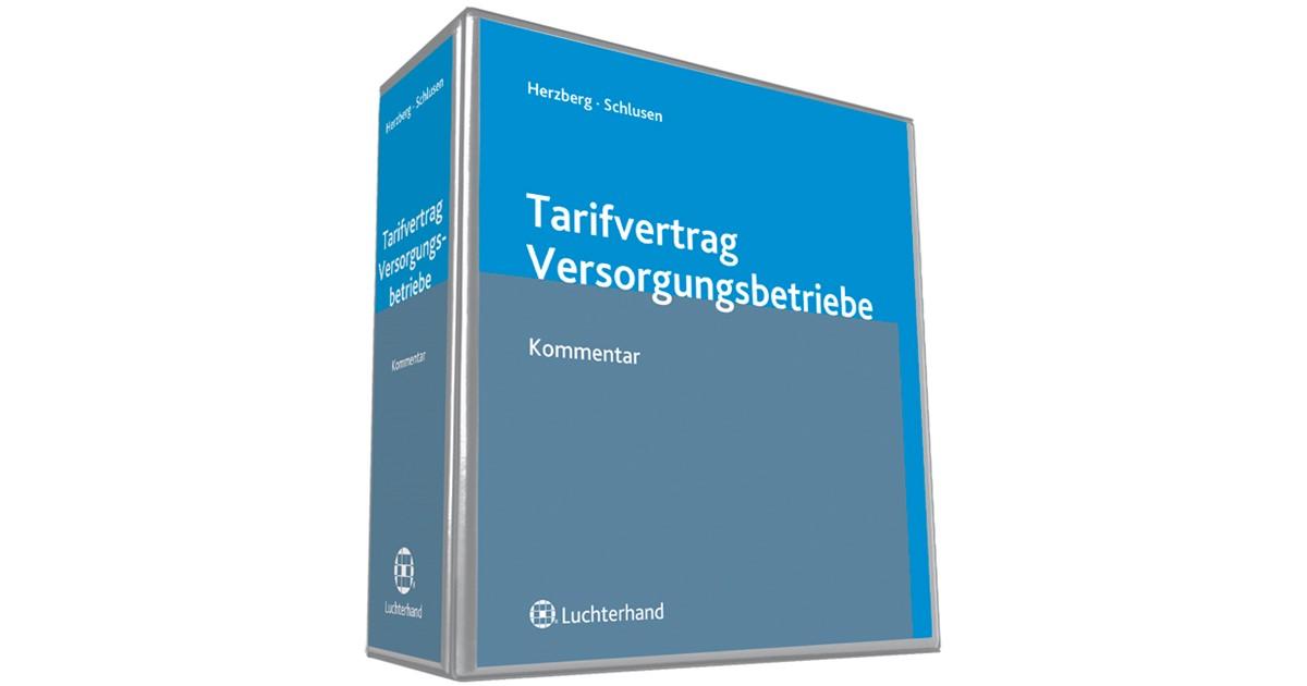 Tarifvertrag Für Versorgungsbetriebe