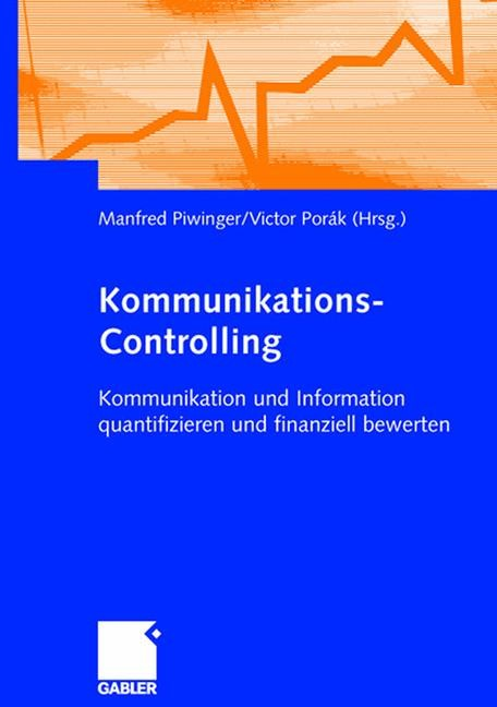 Abbildung von Piwinger / Porák | Kommunikations-Controlling | 1. Auflage 2005 | 2005